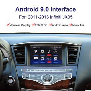 Android System Car Radio Player Видеоинтерфейс для Infiniti JX35 2011-2013 GPS-навигационный интерфейс YouTube, Netflix