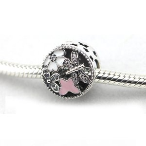 2016 spring NEWEST original Authentic 925 sterling silver beads Springtime Charm DIY fits for pandora bracelets wholesale 1pc lot
