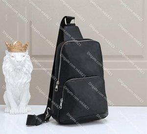 Avenida Sling Bolsa de Ombro de Luxo Sacos Marcas Homens Cross Body Bag Peito Saco De Couro Viagens Desportivas Pacotes Ao Ar Livre Messenger Bag Carteira 03
