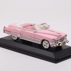 kids 1 43 classics mini 1949 Cadillac De Ville convertible diecast & vehicles model car scale souvenir toy gift Road Signature Z1124