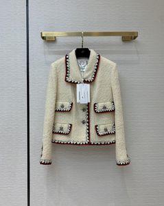 2021 Milan Runway Coats Revers Hals Langarm Getrocknete Marke Dieselben Stil Trenchcoats Frauen Designer Mäntel 1228-6