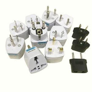 Factory Direct Universal Plug Adapter ЕС США Великобритания AU Plug Travel AC Адаптер переменного тока Преобразователь 250 В 10А Разъем преобразователь белый
