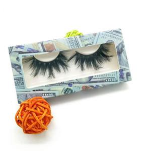 25mm mink eyelashes 100% cruelty free handmade 5d mink lashes full strip lashes soft false eyelashes makeup 25mm