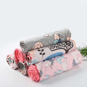 Cotton Cartoon Baby Blanket, Baby Comfort Blanket, Hug Blanket, Washable Stroller Blanket