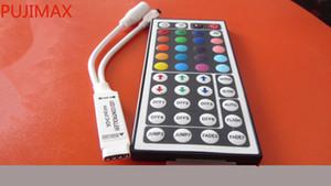 Mini controlador LED RGB com 44 Keys Remote Controller para SMD 5050/3528 RGB LED tira luz DC -5V ~ 24V 6A