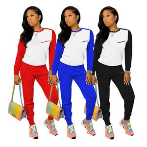 Designer women outfits Casual tracksuits Letter sweatsuits 2 pcs sets Hoodies+Leggings Fall Winter clothing sportswear Joggers suit 4321