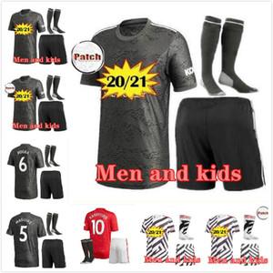 ADULT KIDS Manchester 20 21 UTD soccer jerseys united BRUNO FERNANDES soccer jersey MARTIAL RASHFORD JAMES football shirts 20 21 VAN DE BEEK
