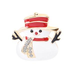 Mode Weihnachtsbrosche als Geschenk Weihnachtsbaum Schneemann Weihnachtsstiefel Jingling Glocke Weihnachtsmann-Broschen Pins Weihnachtsgeschenk DDE3283