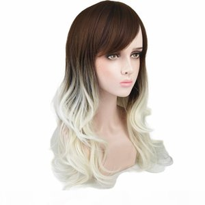 Чистая красная трансграничная электронная коммерция Amazon Winternal Threade Tryed Wig производителей прямых волос