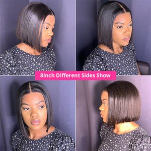 Short Bob Wigs Straight Lace Front Human Hair Wigs For Women Pre Pluck With Baby Hair 13x4 Bob Lace Front Wigs Glueless Lace Wig566
