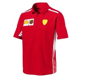 F1 Formula One Polo Chemise T-shirt à manches courtes 2020 Été à manches courtes Haut de la moto Costume de course t-shirt t-shirt
