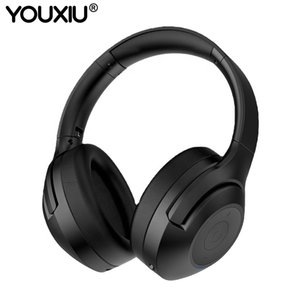 2020 New Arrival ANC Headphones Active Noise Cancelling Headset Stylish Design Stereo Bass Wireless Bluetooth Earphones Y1128