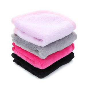 1Pc 20*20cm Reusable Microfiber Facial Cloth Face Towel Makeup Remover Cleansing Glove Tool Beauty Face Care Towel Cosmetic Puff