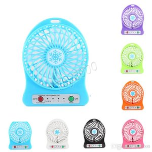 Portable Mini USB Fan summer Small Desk Pocket Handheld Air Rechargeable 18650 Battery Cooler For Home Office kids toys