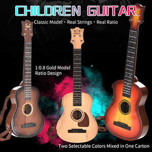 TW2011020 children guitar gift 1:0.8 golf model ratio design Multi-size children's enlightenment musical instrument simulation model guitar