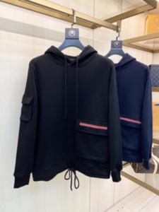 hombre diseñadores ropa con capucha jacquard chaqueta hombres invierno abrigos hombres diseñadores suéteres hombres ropa negro azul