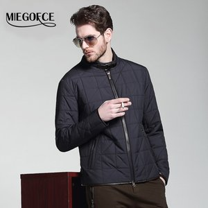 Miegofce 남자의 촉촉한 봄 재킷 남자 코트 outwear 윈드 브레이커 남자 고품질 따뜻한 재킷과 코트 파카