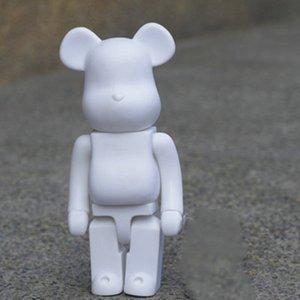 Crianças Bear Tijolo Brinquedo Presente 400% Violento Urso Modelo Modelo de Alta Qualidade Mobiliário Artigos boneca