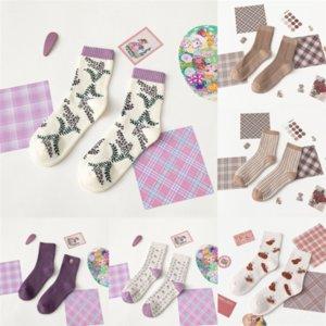 Q2O Herren Socken LA für Babymädchen Baumwolle Atmungsaktive Baumwolle Baumwolle und und Sommer Neuer Lässiger japanischer Männer Sweat-Saugbent Herbst- und Winterfrühling