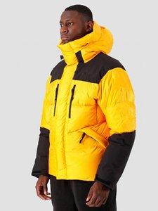 Giacca invernale lunga calda per uomo e donna della versione addensata della serie esterna Vento e pioggia Velcro Design Piumino