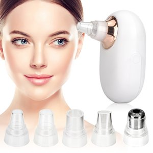 new wholesale 60 pcs Woodpecker blackhead instrument Golden electric facial cleanser beauty instrument household blackhead removal magic