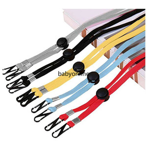 Free Ship Face mask adjustable lanyard Extension Handy Convenient windproof Rope Rest Ear Holder Hang On Neck String Hat Lanyard Party Favor