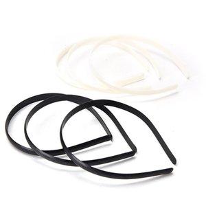DIY Classic Plastic Hair Band Headbands NO Teeth Headwear Girl Hair Tool Accessories White Black 2021