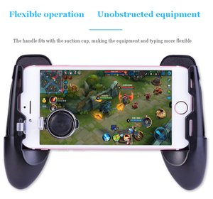 3 in 1 Gamepad holder Game Controller Trigger Fire Aim Button L1R1 Shooter Joystick For iPhone Android Phone pubg Game Accessories