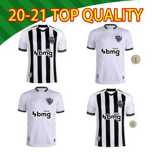 2021 Brasileiro Clube Atlético Mineiro Futebol Jersey Black White Listrado Camisa Elias Patric Chara Juani Football Camisa de Cam