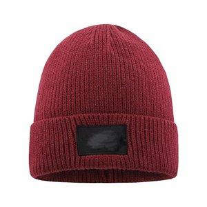 New Mens Beanie Winter Wool Hat New Fashion Womens Knitted Thicken Warm Polo Beanie Bonnet Cap AHF3241