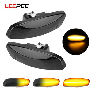 2 pieces Led Dynamic Side Marker Turn Signal Light Sequential Blinker For 308 207 3008 5008 For C4 C3 C5 DS3 DS41