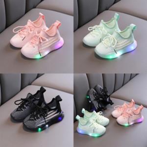 Nuova vendita calda Bambini Casual Children Led Shoes Athletic Shoes Scarpe da ragazze Ragazzi e sneakers Air Light Child Bambini scarpe da corsa traspiranti per k