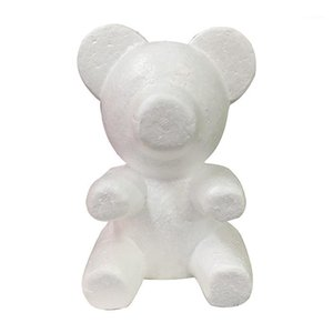 1 pc 200mm Modelling Polystyrene Styrofoam Foam Bear Mold White Craft Balls For DIY Christmas Party Decoration Supplies Gifts1