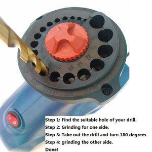 220V электрическая профессиональная битовая точилка EU Plug Высокоскоростная сверлильная машина для шлифовальной машины Твист дрель Драйвер для домохозяйства размера 3-12 мм