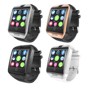 Q18 Smart Watch Bluetooth Smart watches for Android Cellphones Support SIM Card Camera Answer Call and Set up Various Language with Box