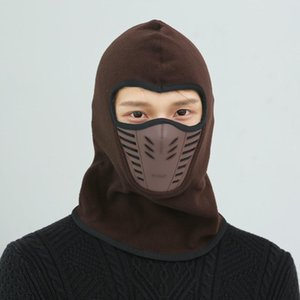 Bike Cycling Hat New Neck Outdoor Mask Unisex Face Thermal Mask Sport Color CS Winter Flannel Hood Helmet Caps 9 Ski Warm Arrival MK217 Bwqq