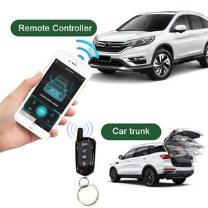 Anahtarsız giriş için Araba Alarm Sistemi Oto Sinyal Merkezi Kilitleme Otomatik Trunk Açılış Merkezi Kilit Araba Uzaktan Indüksiyon Open1