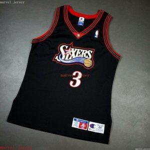 100% Stitched Allen Iverson Vintage Champion Jersey XS-6XL Mens Throwbacks Basketball jerseys Cheap Men Women Youth