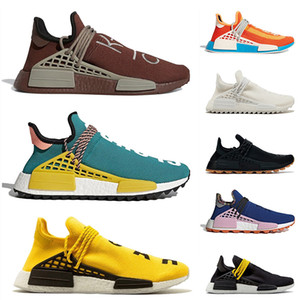 adidas pharrell williams nmd human race Novo NMD Corrida Humana Correndo Sapatos Pharrell Williams Amarelo BBC Infinity Espécie Clássico Triplo Yhite Mens Sneakers Womens