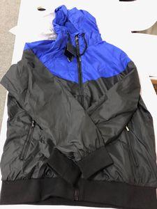 Herren Marke Jacken 2019 Frühling Neue Kleidung Mode Colorblock Jacke Lässige Reißverschluss Windjacke Interclub Sport Fußball Hoodies