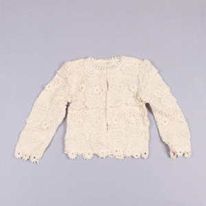 Clearance sale Girls Lace Shirts Children Clothing Long Sleeve T Shirts Popular Princess Shirt Kid Coa Girl Clothes Z171