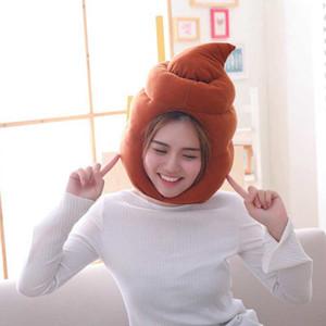 الإبداعية أنيمي الفيلم الساخن القرف القبعات البراز أفخم مضحك كوس ل أفخم لعب الطفل محشوة قبعة Y1124