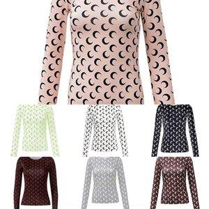 Pbft LVINMW Sexy розовый хлопок Длинный лук галстук V T Crop Top Осень Зима Женщины крест рукава Fur сращивания шеи рубашки Женский Party Club Tops Y200412