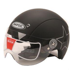 Motorradhelm Elektromotor Auto Roller Fahrrad Open Face Half Baseballkappe Anti-UV-Sicherheit Hard Hat Motocross Helm Multiple