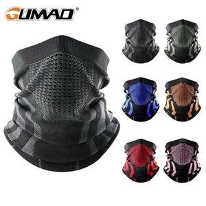 Thermal Face Bandana Mask Cover Collo Scaldino Ghetta Bicycle Cycling Ski Tube Sciarpa Escursionismo Traspirante Maschere Stampa Donne Inverno