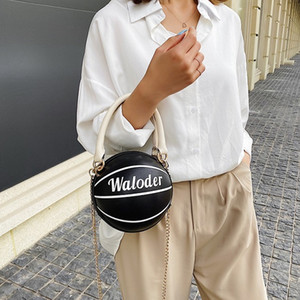 Hot Sale Popular 4 colors basketball sport crossbody messenger shoulders bags for girls ins fashion designer casual leather handbags