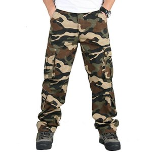 Camouflage Trousers Men's Pants Printed Pants Male Cotton Spring Jogger Men's Clothing Climbing Army Outdoor Sweatpants