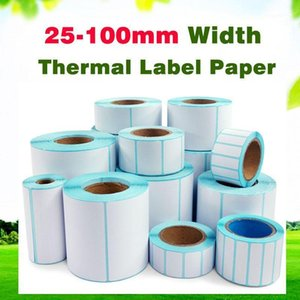 20-40mm width Thermal Label Sticker waterproof paper Supermarket Label Electronic Scale Price Tags Serial Number Bar code paper1