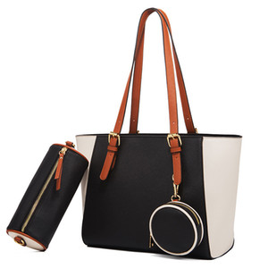 Canvas material composite handbags with coin purse designer handbags fashion totes 2021 new style high quality bags