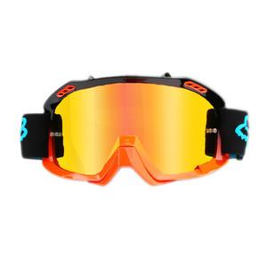 Fox Ao ar livre à prova de areia mountain bike country motocicleta óculos de corrida capacete de corrida